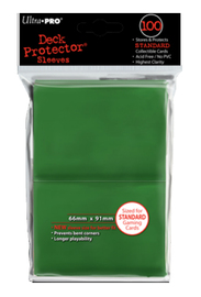 Ultra Pro: Deck Protector - Standard Green (100ct)