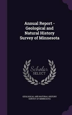 Annual Report - Geological and Natural History Survey of Minnesota image