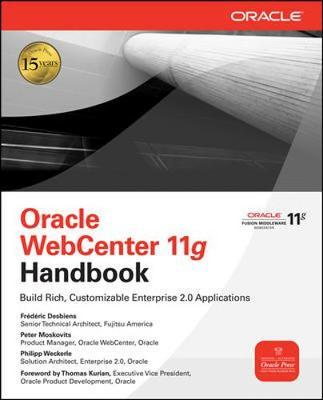 Oracle WebCenter 11g Handbook by Philipp Weckerle image