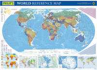 Philip's World Wall Map image