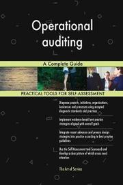 Operational Auditing a Complete Guide by Gerardus Blokdyk image