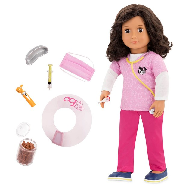 "Our Generation: 18"" Professional Vet Doll - Paloma"