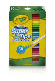 Crayola SuperTips Markers (50 Pack) image