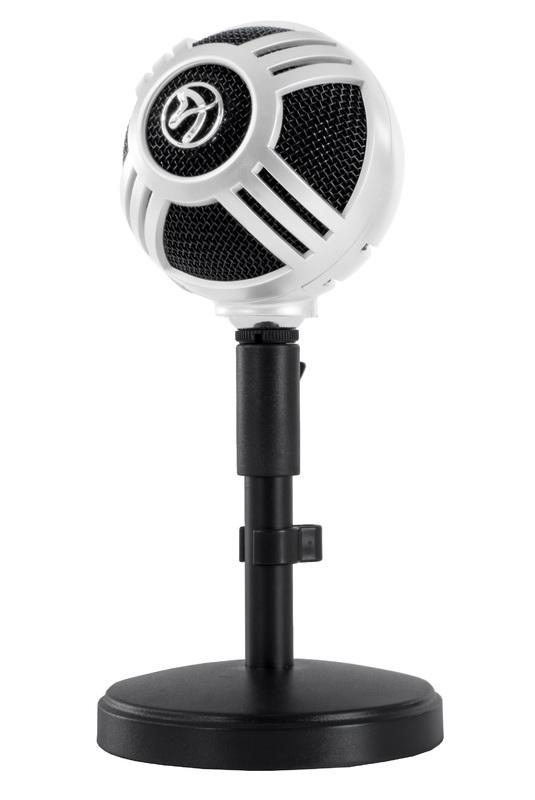Arozzi Sfera Microphone (White) for PC