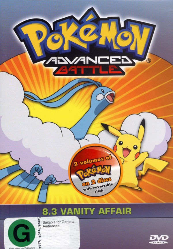 Pokemon - Advanced Battle 8.3 / 8.4 (2 Disc Set) on DVD image
