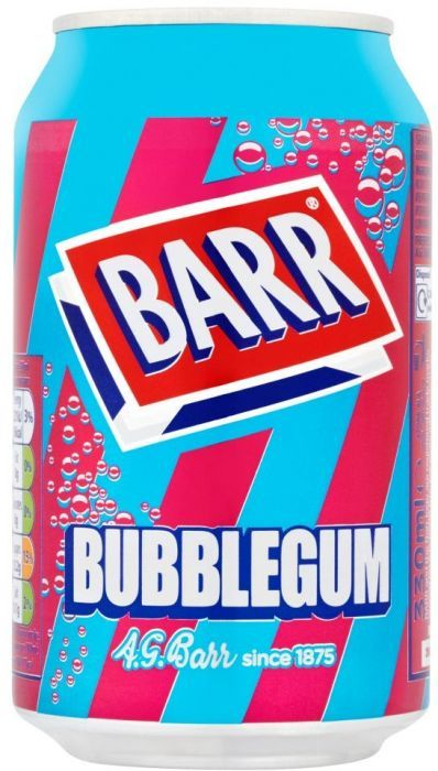BARR Bubblegum 330ml 24pk