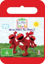Elmo's World - What Makes You Happy? on DVD