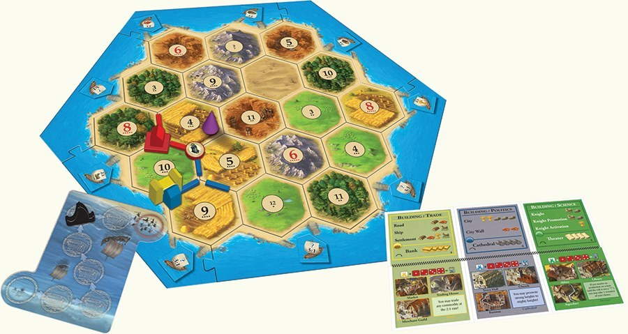Catan: Cities & Knights Expansion image