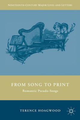 From Song to Print by Terence Hoagwood image