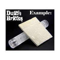 Green Stuff World Texture Rolling Pin: Dutch Bricks
