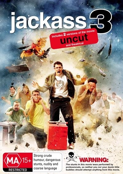 Jackass 3 on Blu-ray