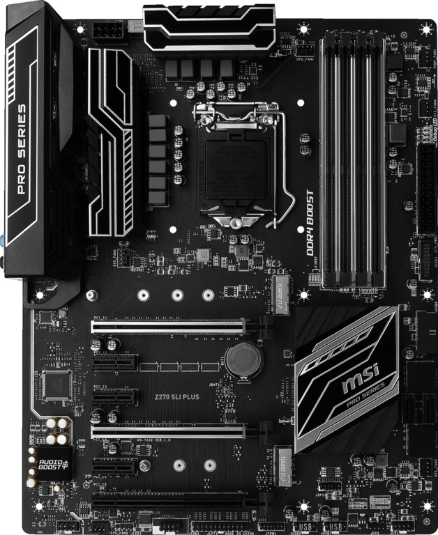 MSI Z270 SLI Plus Motherboard