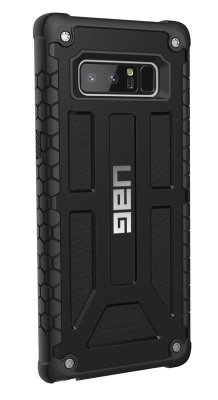 UAG Monarch Case for Galaxy Note 8 (Matte Black/Black)