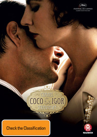 Coco Chanel and Igor Stravinsky on DVD