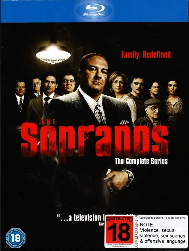 The Sopranos: Complete Series 1-6 on Blu-ray