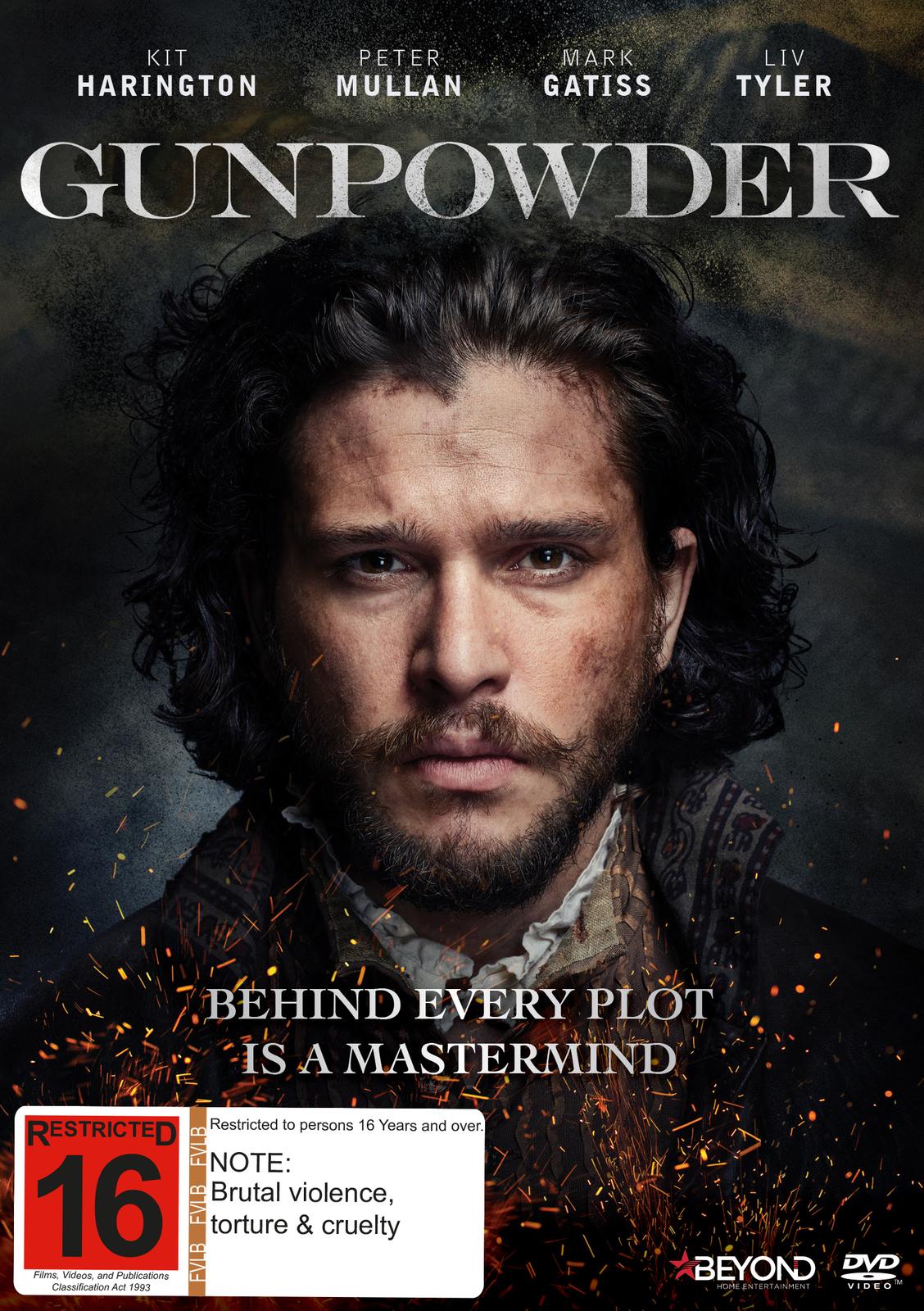 Gunpowder on DVD image