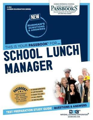 School Lunch Manager by National Learning Corporation image
