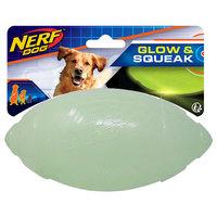 Nerf Dog Glow & Squeak Classic Football