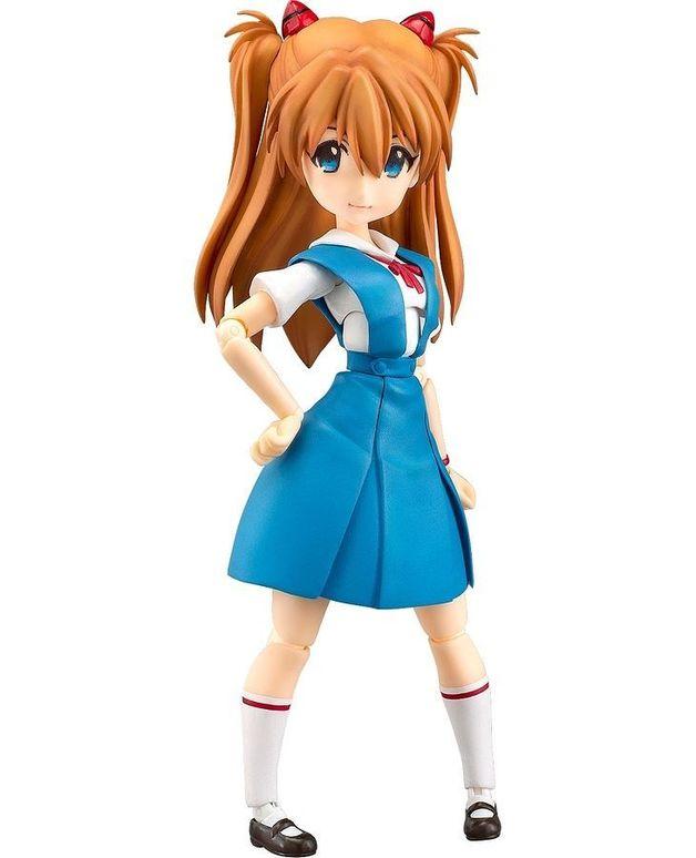 Evangelion: Asuka Langley (School Uniform) - Parfom R! Figure
