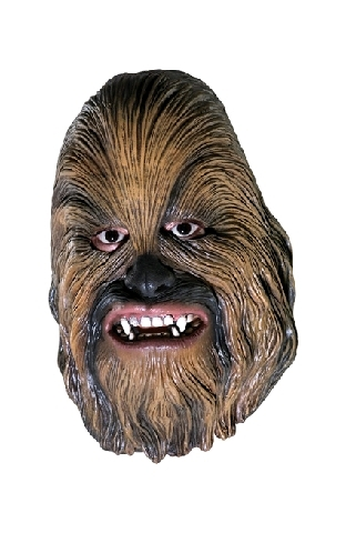 Star Wars Chewbacca Vinyl Mask