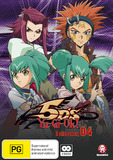 Yu-Gi-Oh! 5D's - Collection 4 on DVD