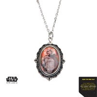 Star Wars Stainless Steel Captain Phasma Cameo Pendant