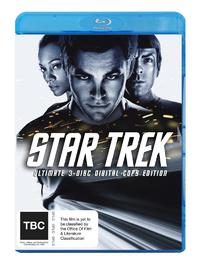 Star Trek Special Edition (3 Disc Set) + free Digital Copy on Blu-ray, DC