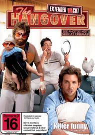 The Hangover on DVD