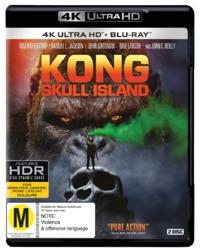 Kong: Skull Island on Blu-ray, UHD Blu-ray
