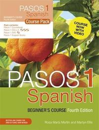 Pasos 1: Spanish Beginner's Course: Course Pack by Martyn Ellis