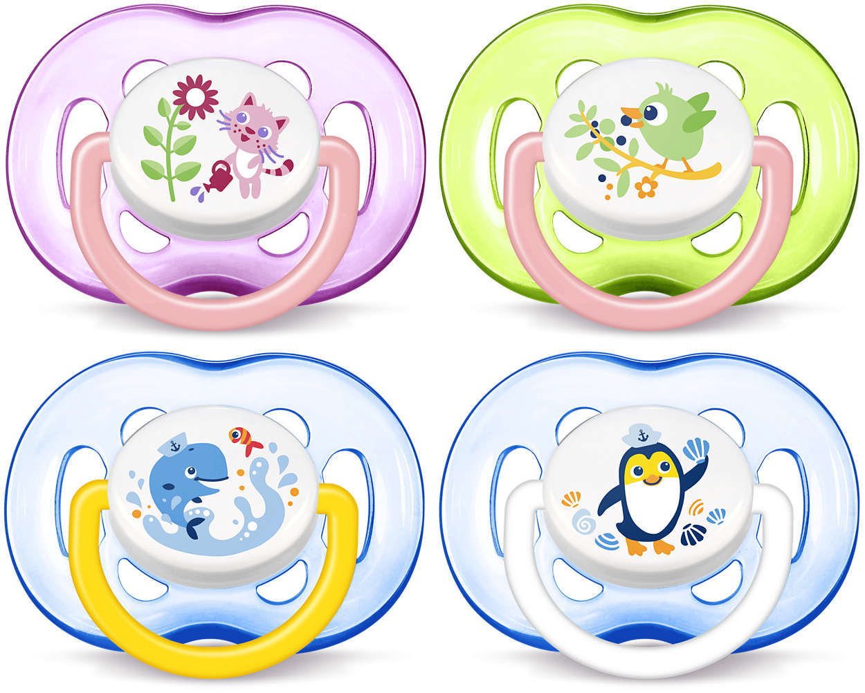 Philips Avent 18m+ Soother - Assorted (2-pack) image