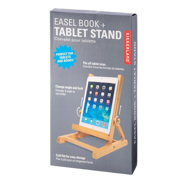 Easel Book + Tablet Stand