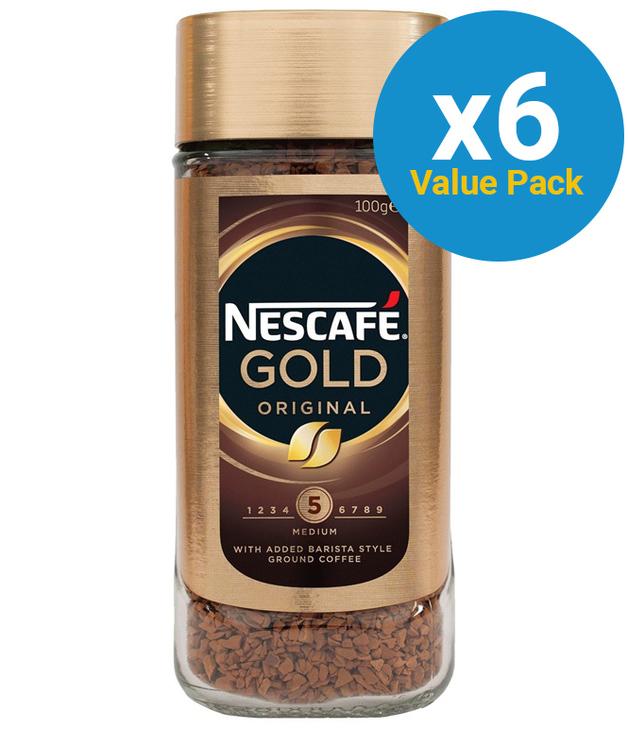 Nescafe Gold - Original (100g) 6pk