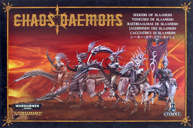 Warhammer Seekers of Slaanesh