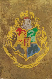 Harry Potter Hogwart's Crest Wall Poster (127)