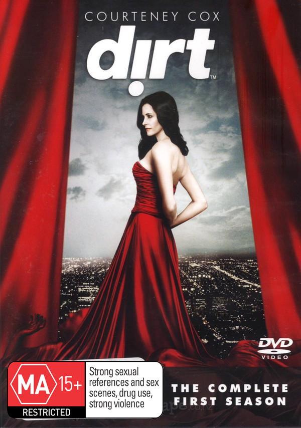 Dirt - The Complete 1st Season (4 Disc Set) on DVD image