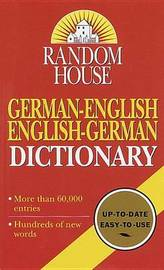 Random House German-English English-German Dictionary by Random House image