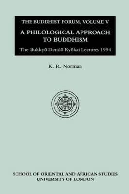 The Buddhist Forum: v.5 by K.R. Norman