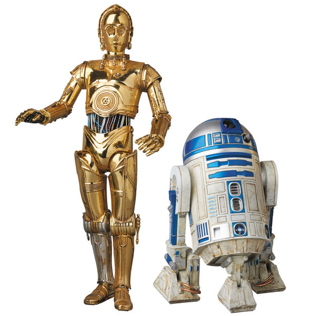 MAFEX: Star Wars C-3PO & R2-D2 Collectable Figures