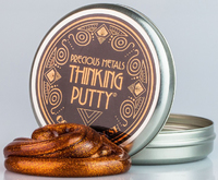 Crazy Aarons Thinking Putty: Copper Crush