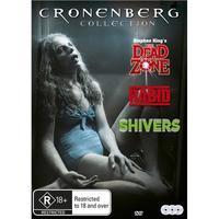 David Cronenberg Collection - Rabid/Shivers/Dead Zone on DVD image