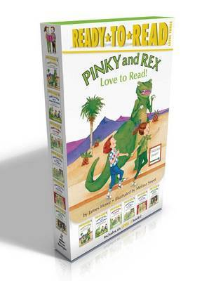 Pinky and Rex Love to Read! by James Howe image