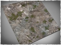 DeepCut Studio Medieval Ruins Neoprene Mat (4x4) image