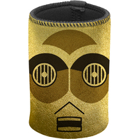 Star Wars C-3PO Gold Metallic Can Cooler