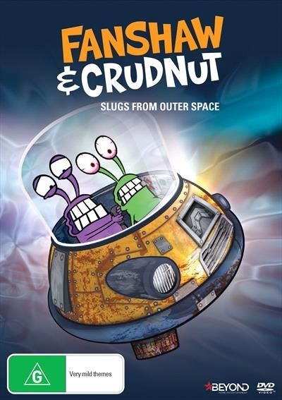 Fanshaw & Crudnut: Slugs From Outer Space on DVD