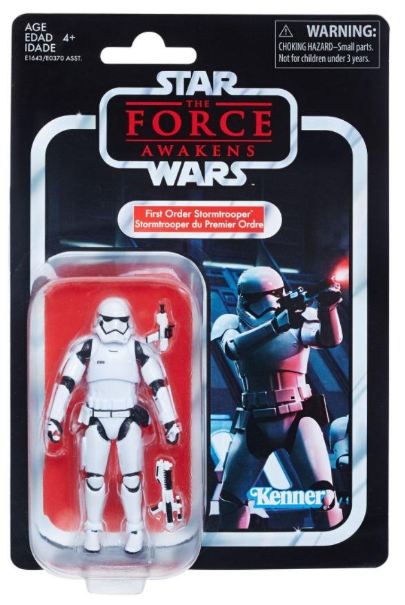 """Star Wars: 3.75"""" Vintage Figure - First Order Stormtrooper image"""