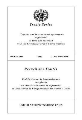 Treaty Series 2856 (English/French Edition) image