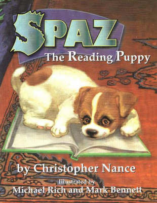 Spaz the Reading Puppy by C. Nance image