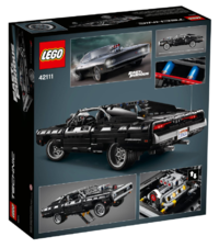 LEGO Technic: Fast & Furious - Dom's Dodge Charger - (42111) image
