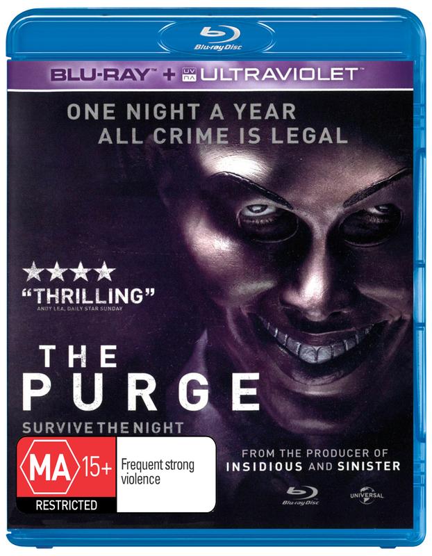 The Purge on Blu-ray, UV